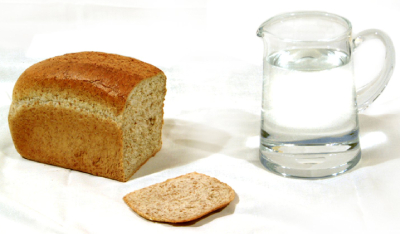 water en brood